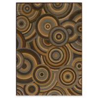 Momeni Dream Power-Loomed 9'3 x 12'6 Area Rug in Brown