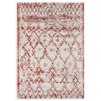 Momeni Loft Power-Loomed 9'3 x 12'6 Area Rug in Rust