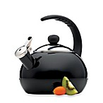 Farberware® Luna 2.5-Quart Tea Kettle in Black