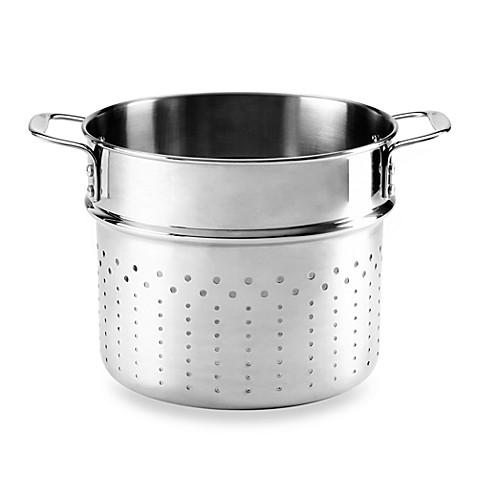 calphalon tri ply stainless steel 6quart pasta insert - Calphalon Tri Ply Stainless Steel