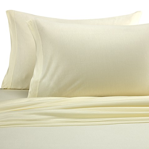 Eucalyptus Origins™ Jersey Knit Twin Sheet Set in Ivory