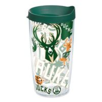 Tervis® NBA Milwaukee Bucks 16 oz. Allover Wrap Tumbler with Lid