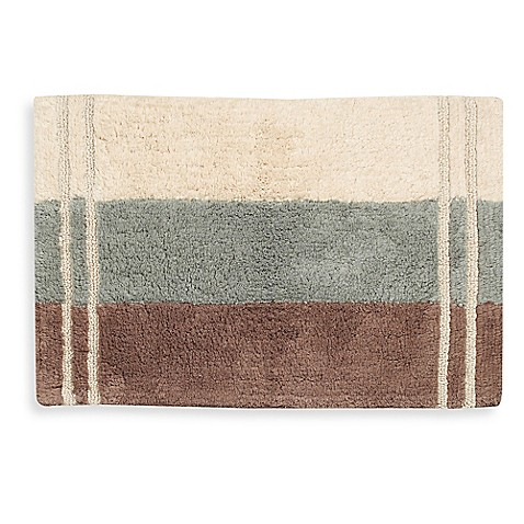 Croscill Fairfax Bath Rug In Aqua Bed Bath Beyond