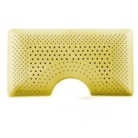 Malouf Shoulder Zoned Dough® Queen Memory Foam Pillow with Chamomile in Yellow