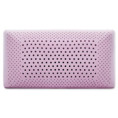Malouf Memory Foam Queen Pillow in Lavender