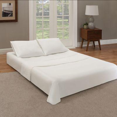 Guestroom Survival Kit 9 Inch Queen Air Mattress In White