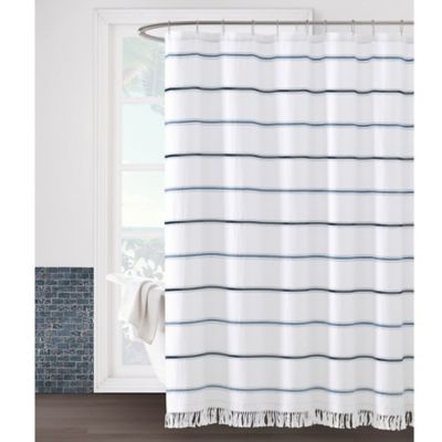 Naomi Shower Curtain In Blue