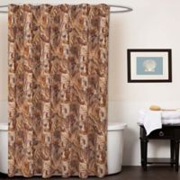 Sky Home Autumn Leaves Shower Curtain