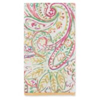 Caspari Painted Paisley 15-Count Paper Guest Towels in Gold Dust