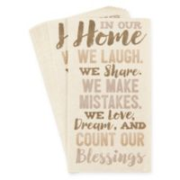 """Creative Converting™ 32-Count """"In Our Home"""" Paper Guest Towels"""