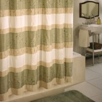 "Excell Wasabi 70"" x 72"" Shower Curtain in Multicolor"