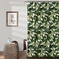 Lush Décor Tropical Paradise Shower Curtain