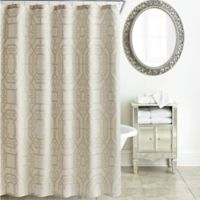 Waterford Lancaster Shower Curtain in Sand