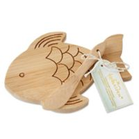 Kate Aspen® 4-Pack 2-Piece Fish-Shaped Cheeseboard and Spreader Sets