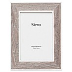 Siena 8-Inch x 10-Inch Weathered Wood Frame in Taupe/Grey