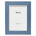 Siena 5-Inch x 7-Inch Weathered Wood Frame in Blue