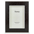 Siena 5-Inch x 7-Inch Weathered Wood Frame in Black