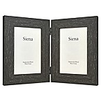 Siena 2-Photo Weathered Wood Frame in Espresso
