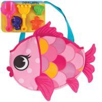 Stephen Joseph® Fish Beach Tote in Pink
