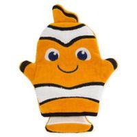 Stephen Joseph® Clown Fish Bath Mitt in Black/Orange