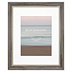 Rustic Wood 11-Inch x 14-Inch Picture Frame in Grey