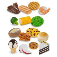 Melissa & Doug® 18-Piece Food Fun Combine & Dine Dinners Set