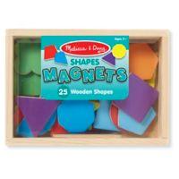 Melissa & Doug® Wooden Shape Magnets