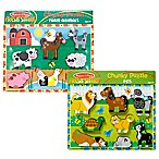 Melissa & Doug® Farm and Pets Chunky Puzzle Bundle (Set of 2)