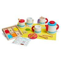 Melissa & Doug® Wooden Steep & Serve Tea Set