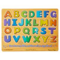 Melissa & Doug® Numbers & Alphabet Sound Puzzle Bundle