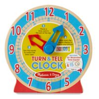 Melissa & Doug® Turn & Tell Clock