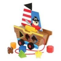 Stephen Joseph Pirate Shaped Sorters in Yellow