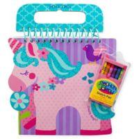 Stephen Joseph® Shaped Sketch Pad in Unicorn Shape
