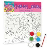 Stephen Joseph® Mermaid Craft Canvas Set