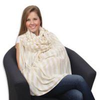 Leachco® Luxi™ Infinity Nursing Scarf in Khaki/Ivory