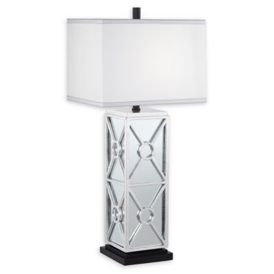 Buy kathy ireland table lamps from bed bath beyond pacific coast lighting kathy ireland mirror table lamp in silver mozeypictures Image collections