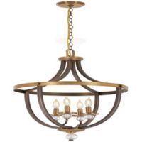 Minka Lavery® Safra 4-Light Semi-Flush Mount Ceiling Light in Bronze