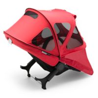 Bugaboo Donkey Breezy Sun Canopy in Neon Red