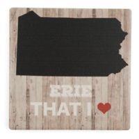 Thirstystone® Erie That I Love Single Coaster