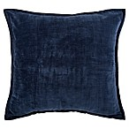 Make-Your-Own-Pillow Sola Chenille 20-Inch Square Throw Pillow Cover in Navy