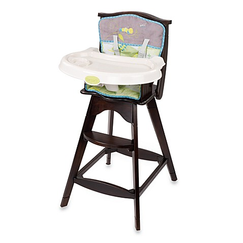 Carter S 174 Classic Comfort Reclining Wood High Chair