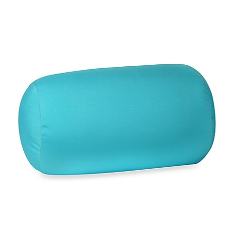 Homedics 174 Sqush Tube Pillow Turquoise Bed Bath Amp Beyond