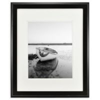 Chelsea 11-Inch x 14-Inch Matted Frame in Black