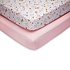 Little Love by NoJo® She's So Lovely Fitted Crib Sheets (Set of 2)