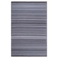 Fab Habitat Cancun 4' x 6' Indoor/Outdoor Area Rug in Midnight