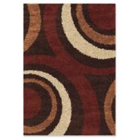Orion Rugs Ring of Fire 5'3 x 7'6 Area Rug in Mocha