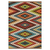 Orian Rugs Sedona 5'2 x 7'6 Multicolor Indoor/Outdoor Area Rug