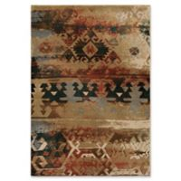 Orion Rugs Elk River 5'3 x 7'6 Area Rug in Red