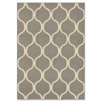 Orian Rugs Modern Grace Pyrenees Adobe Woven 5'3 x 7'6 Area Rug in Grey