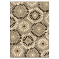 Orian Rugs Modern Grace Springtime Woven 5'3 x 7'6 Area Rug in Grey